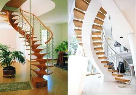 What You Need To Know About Spiral Staircases | Designing Interiors | Scoop.it