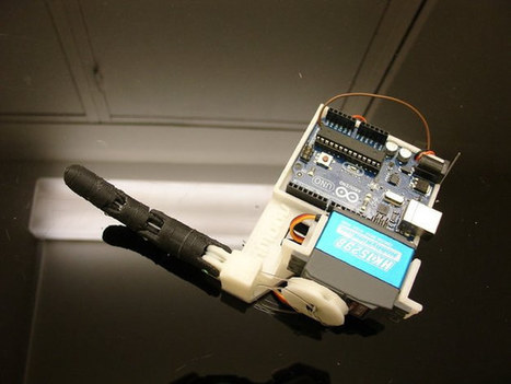 Learn the Basics of Humanoid Robots with InMoov Finger Starter Kit | Embedded Systems News | Scoop.it