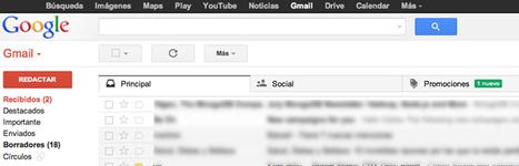 Cómo usar las nuevas pestañas de Gmail + Vídeo.- | Educación y TIC en la Web 2.0 | Scoop.it