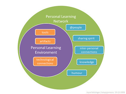 Defining Personal Learning Networks | Skills and Literacies for Learning in a Digital and Connected World | Scoop.it