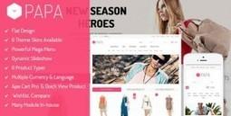 SM Papa - Themeforest Responsive Fashion Theme for Magento | Theme Mart | Scoop.it