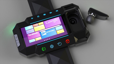 Microsoft's smartwatch concept moves a step closer to reality | Technology in Business Today | Scoop.it