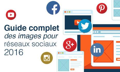 Guide complet des images pour réseaux sociaux 2016 - Résonance communication | e-tourisme | Scoop.it