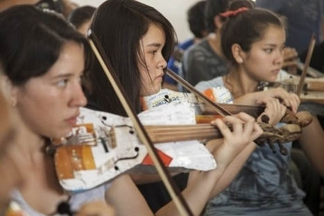 La Orquesta de Cateura : un orchestre avec des instruments fabriqués à partir de déchets | EFFICYCLE | Scoop.it