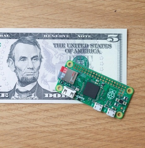 The $5 Raspberry Pi Zero back in stock shortly -- but you'll need to act fast | Raspberry Pi | Scoop.it