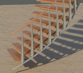 3DHO - Revit: Escalier... sans escalier ! | Logiciels d'architecture | Scoop.it