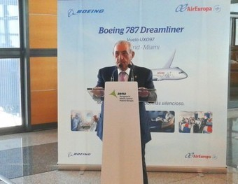 Air Europa inicia la ruta a Miami con el B-787 Dreamliner | Transportes | España en el Aire | Scoop.it