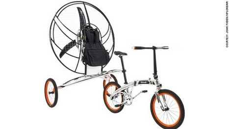 British inventors claim world's first flying bicycle - CNN International | Bicycle Safety and Accident Claims in CA | Scoop.it