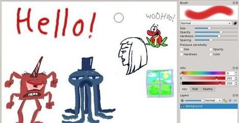DrawPile, alternativa a Paint que permite la edición colaborativa remota | Herramientas Digitales para el profesorado | Scoop.it
