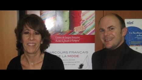 Entretien audio : Le parcours en français de la mode, une innovation de la CCIP | TICE & FLE | Scoop.it