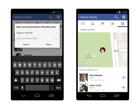 "Facebook Launches ""Nearby Friends"" With Opt-In Real-Time Location Sharing To Help You Meet Up 
