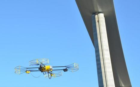 IA : Un UAV pour le viaduc de Millau. | Drone Civil | Scoop.it
