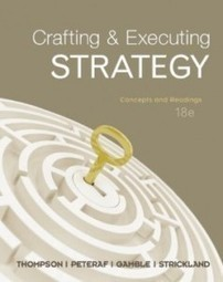 Test Bank For » Test Bank for Crafting and Executing Strategy The Quest for Competitive Advantage Concepts and Cases, 18th Edition : Thompson Download | Management Test Bank | Scoop.it
