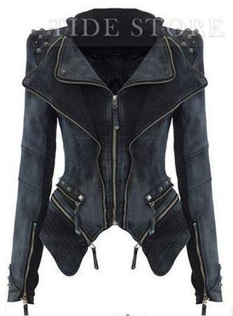 Amazing Stylish New Leisure Design Women's Long Sleeve Jean Jacket/Coat 3colors   Dresses   Scoop.it
