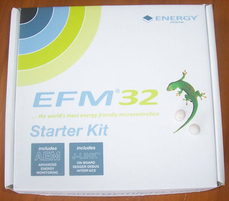 Energy Micro EFM32 Tiny Gecko (Cortex-M3) Starter Kit Unboxing | Embedded Systems News | Scoop.it