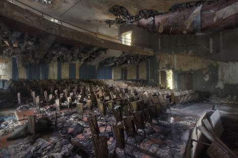 Mosquito Theater | Abandoned places, urban and industrial exploration | Scoop.it