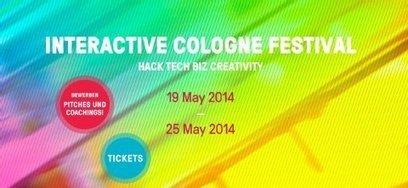 Interactive Cologne 2014: Größer, lauter, kreativer und häckisch   Web de Cologne   Scoop.it