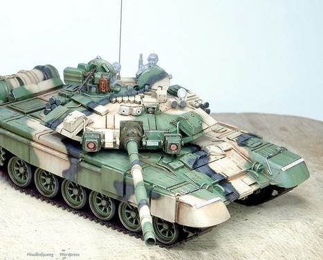 T90A and Bradley BUSK conversions | Military Miniatures H.Q. | Scoop.it