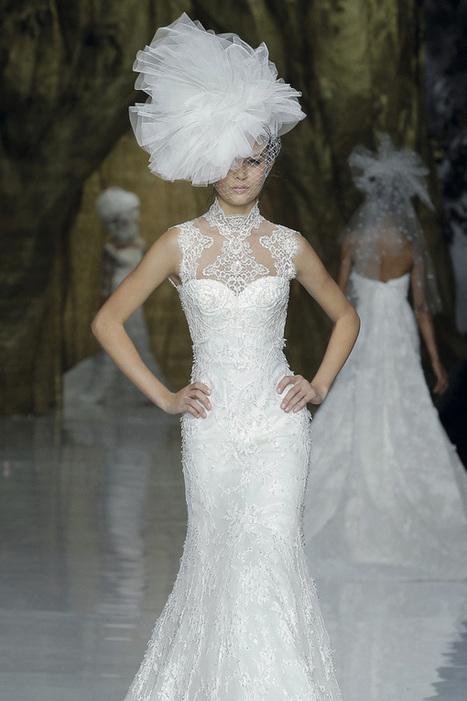 El glamour y atrevimiento de los tocados para novia de Pronovias   Tendencias de Bodas Magazine     Pronovias   Scoop.it