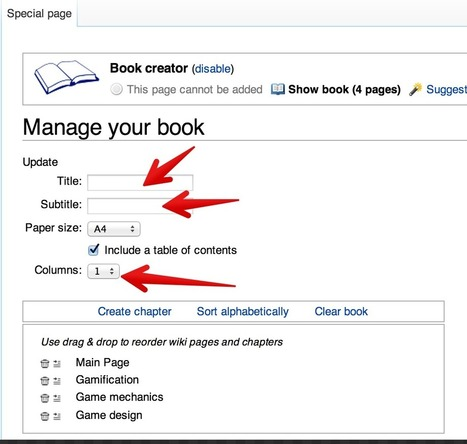 A Quick Visual Guide on How to Create An eBook from Wikipedia Articles - Thanks again to Med Kharbach | Web Tools for Education | Scoop.it