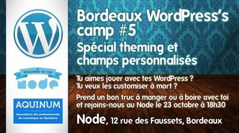 Les rencontres WordPress Bordeaux avec  StudioXine et Aquinum au Node | WordPress | Scoop.it