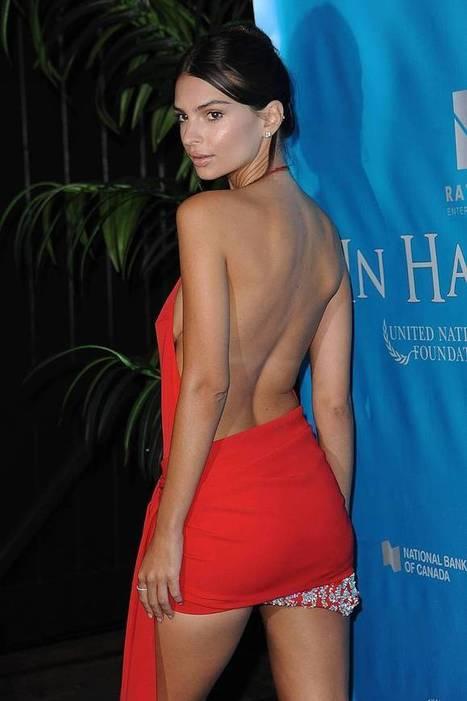Photos : Emily Ratajkowski sexy en mini robe rouge | Radio Planète-Eléa | Scoop.it