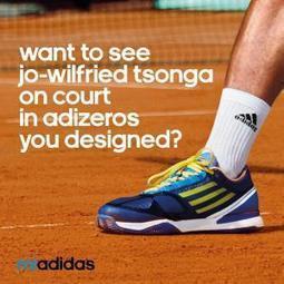 Venez customiser les Adidas de Tsonga   Coté Vestiaire - Blog sur le Sport Business   Scoop.it