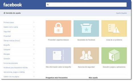 Facebook rediseña su Centro de Ayuda | Noticias y concursos | Scoop.it