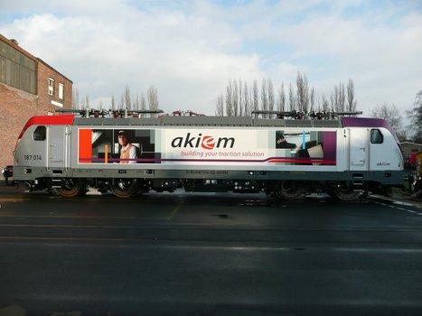Akiem and Bombardier announce new Traxx framework deal   EricJ 's Railway Topics   Scoop.it