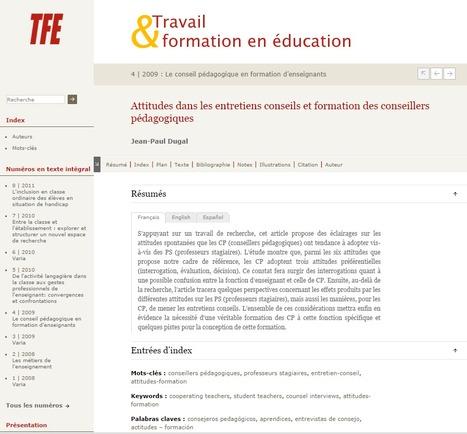 Attitudes dans les entretiens conseils et formation des conseillers pédagogiques | Conseiller pédagogique dans l'enseignement supérieur | Scoop.it