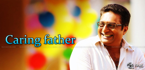 Actor Prakash Raj Is A Great Father In Real Life   Andhraheadlines   Scoop.it