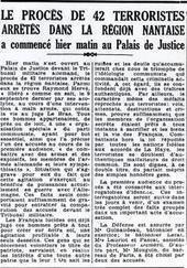 Célébration de la mémoire des fusillés de 1943 - [Ville de Rezé] | Histoire 2 guerres | Scoop.it