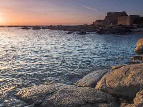 photo en Finistère, Bretagne et...: crépuscule au Cabellou à Concarneau (3 photos) | photo en Bretagne - Finistère | Scoop.it