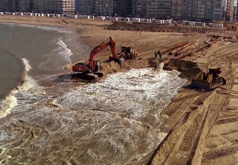 Guerre du sable sur les côtes de France | environnement et santé | Scoop.it