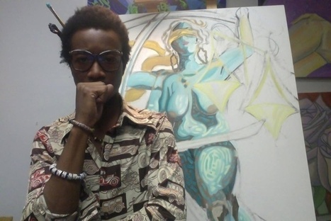 Kwadwo was painting a tribute to victims of police brutality. Then he almost became one. | Upsetment | Scoop.it