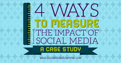 Four Ways to Measure the Impact of Social Media: A Case Study | Content Strategy and Content Marketing | Scoop.it