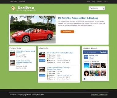 DealPress Local Daily Deal Wordpress Theme | deal | Scoop.it