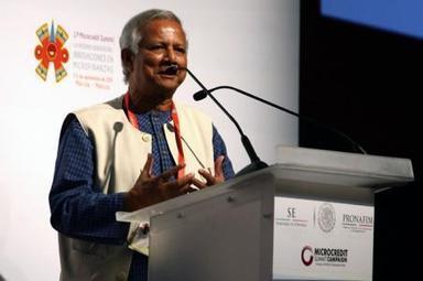Sistema financiero sólo funciona para los ricos: Yunus - El Economista | Servicios financieros | Scoop.it