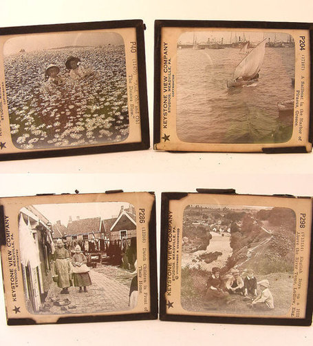 Glass Slides for Keystone Magic Lantern Huge Lot of 153 Antique Keystone View plus Drawer | Antiques & Vintage Collectibles | Scoop.it