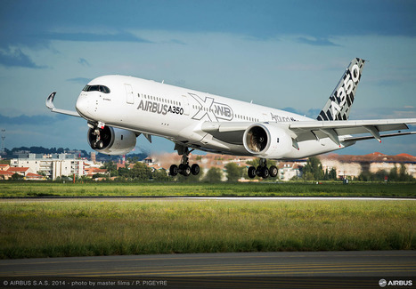 Airbus A350 XWB Takes Off with Over 1,000 3D Printed Parts | 3D_Materials journal | Scoop.it