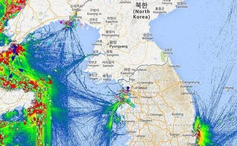 L'isolement de la Corée du Nord en une carte | Géographie au lycée | Scoop.it