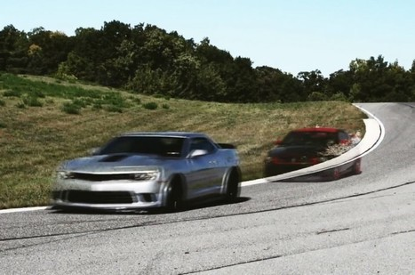 Video: 2014 Chevrolet Camaro Z/28 vs Ford Mustang Boss 302 Laguna Seca - MotorTrend Magazine | why Chevrolet is better than ford | Scoop.it