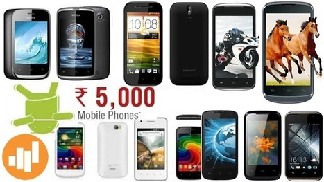 Top 30 cheapest Android phone in India below Rs 5000 for March 2014 - Know Your Mobile India | Blogging | Scoop.it