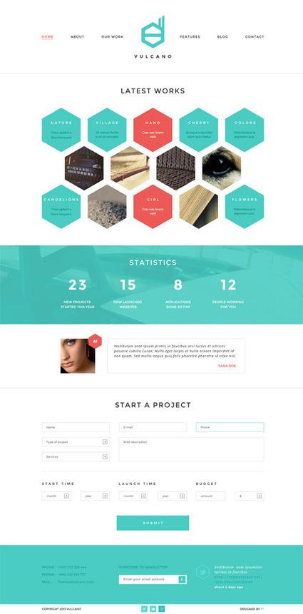 WordPress Themes: 35 Fresh Premium Responsive Themes 2013 | Wordpress Themes | Design Blog | Template & Webdesign | Scoop.it