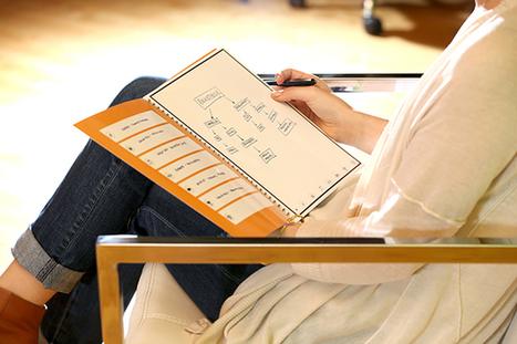 RocketBook. Un cahier intelligent réutilisable - Allweb2 - Les Outils du Web | Espace des Solutions 2.0 | Scoop.it