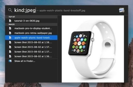 How to Search & Find Specific File Types & File Formats in Mac OS X | Macs and iPads | Scoop.it