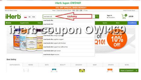 IHerb kupon kod OWI469 Witaminy i Suplementy : JAK KUPOWAĆ NA IHERB | IHerb coupon code OWI469 | Scoop.it