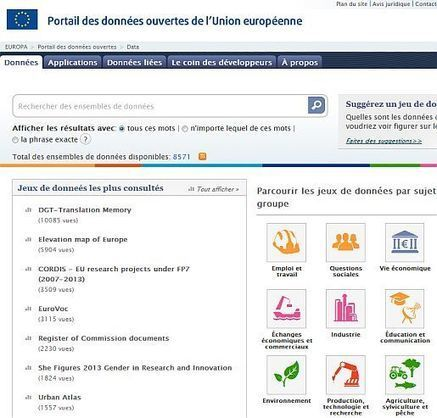 Des listes de portails open data - Un blog pour l'information juridique | idc tic : information, documentation, communication - technologies de l'information et de la communication | Scoop.it