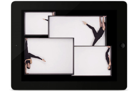 Fifth Wall: A dancing iPad app   THIS IS THE MACHINE.   Scoop.it