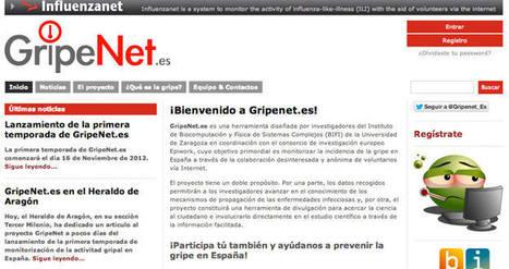 GripeNet, web para analizar en tiempo real el desarrollo e incidencia de la gripe en España | eSalud Social Media | Scoop.it